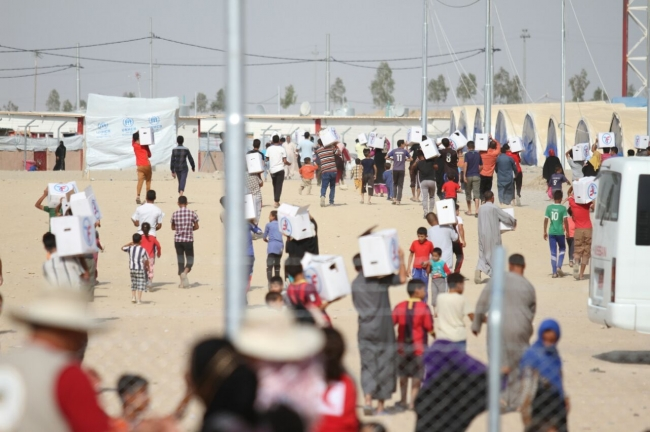 Zakat Foundation of America - Respond Quickly to Refugees in Iraq