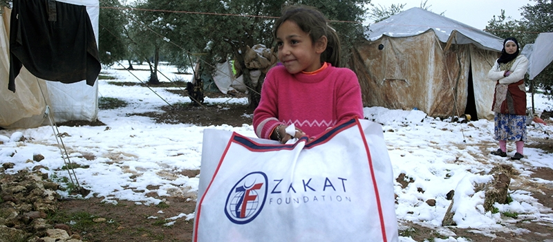 Zakat Foundation of America - Syrian Winter Kit Distribution