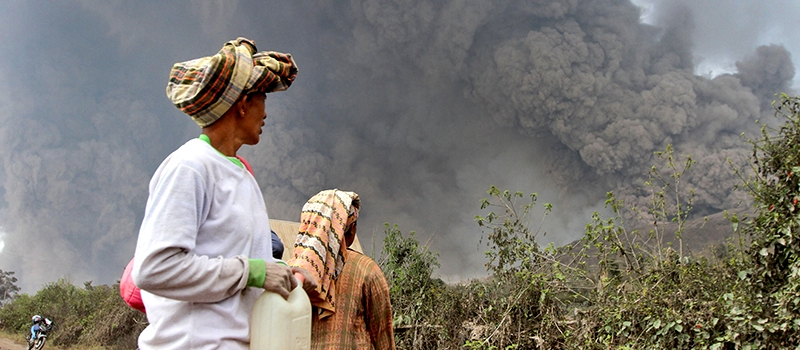 Zakat Foundation of America - Indonesia Volcanic Relief - 2014
