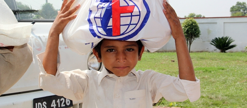 Zakat Foundation of America - A Lifeline for Flood Survivors in Pakistan - 2014