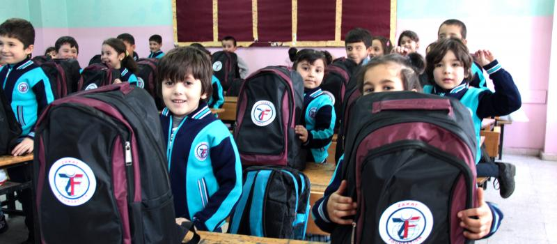 Zakat Foundation of America - Support Education for Syrian Youth