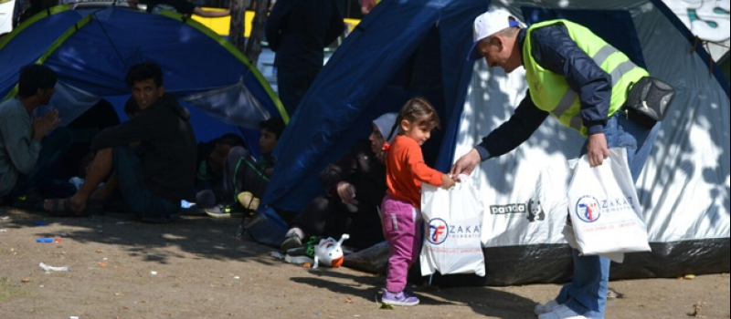 Zakat Foundation of America - The Largest Refugee Crisis of Our Time