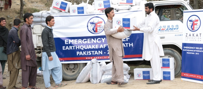 Zakat Foundation of America - Bring Relief to Survivors of Afghan-Pak Earthquake