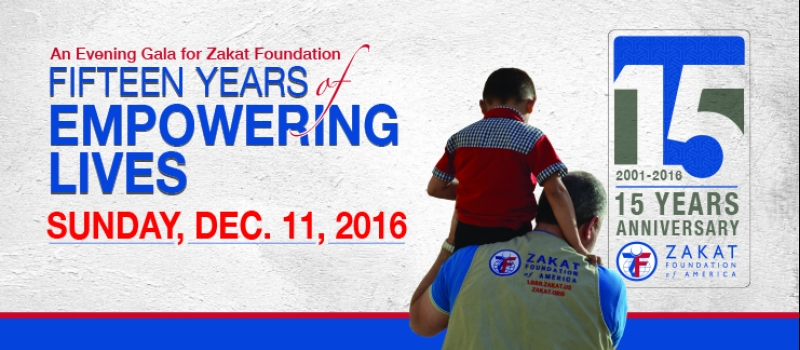 Zakat Foundation of America - 15 Years of Empowering Lives