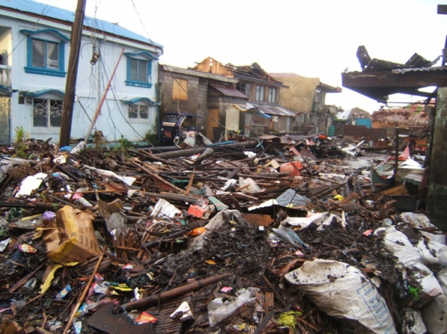 Zakat Foundation of America - ZF Helps Rebuild Philippines Following Typhoon Haiyan