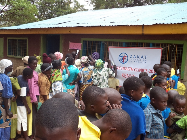 Zakat Foundation of America - Mobile Health Clinics Ease Kenyan Health Crisis