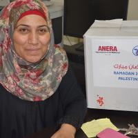 Zakat Foundation of America - Ramadan Food Parcels for West Bank Families