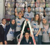 Zakat Foundation of America - No Art or Science to Service: Volunteers Collect Clothes for Syria