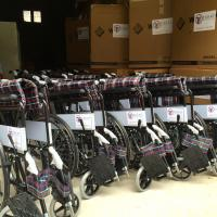 Zakat Foundation of America - ZF Donates Wheelchairs to War Victims