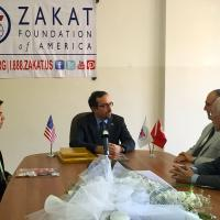 Zakat Foundation of America - U.S. Ambassador to Turkey Applauds ZF's Dedication