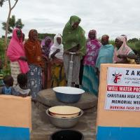 Zakat Foundation of America - Top Student Partners with ZF to Build Water Well