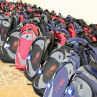 Zakat Foundation of America - ZF Supports Local Community with Backpack Distribution