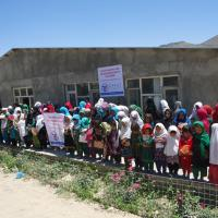 Zakat Foundation of America - Your Dreams Are Afghanistan's Future: Promoting Education at Sheikh Yassin Girls School
