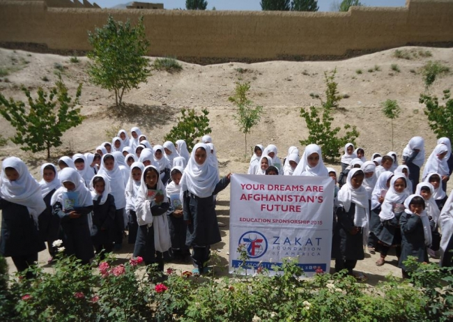 Zakat Foundation of America - Your Dreams Are Afghanistan's Future