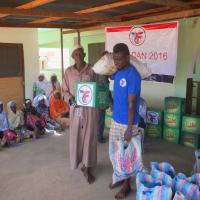 Zakat Foundation of America - News Ghana: Muslims Receive Ramadan Food from Zakat Foundation of America (ZF)