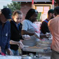 Zakat Foundation of America - ZF Fasting for Humanity Event Feeds Chicago's Homeless