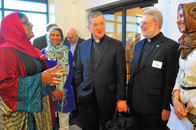 Zakat Foundation of America - Catholic New World: Archbishop Cupich Shares Ramadan Meal