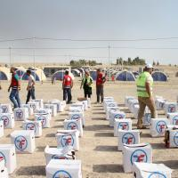 Zakat Foundation of America - ZF Carries the Soothing Spirit of Care to the Iraqi People