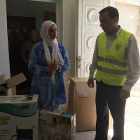 Zakat Foundation of America - ZF Brings Medical Supplies, Relief to Palestinian Families