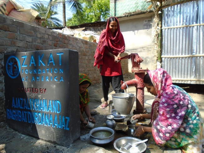 Zakat Foundation of America - ZF Programs Director Tours the Field in Bangladesh