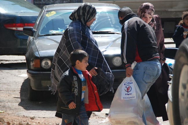 Zakat Foundation of America - Syrian Refugees: 150 Homes Rented for Syrians in Jordan and Lebanon