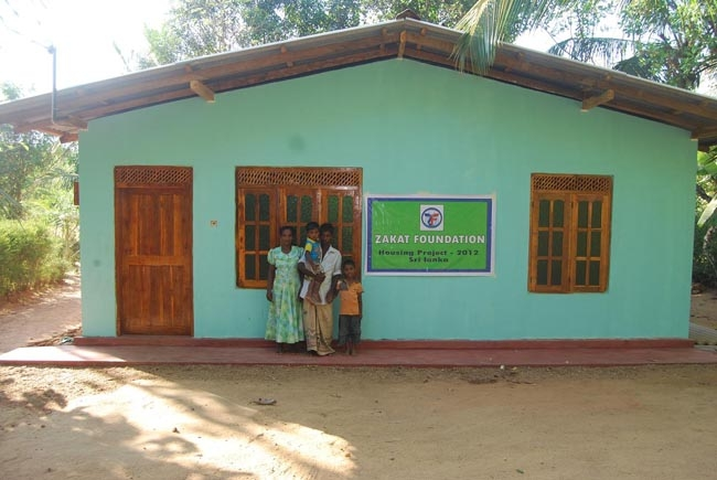 Zakat Foundation of America - Sri Lanka Housing Project Completed