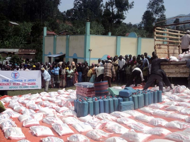 Zakat Foundation of America - Bringing Relief to Landslide Victims in Uganda