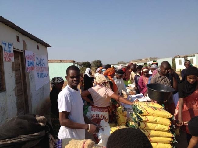 Zakat Foundation of America - Ramadan 2012-Sharing the Blessings in Mozambique
