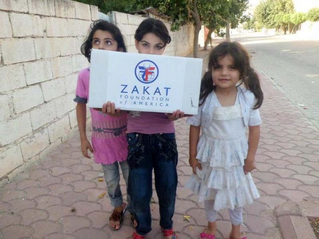 Zakat Foundation of America - ZF On the Forefront in Syria
