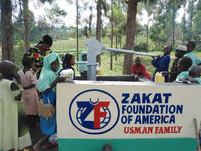 Zakat Foundation of America - Building a Well for a Community Desperate for Clean Water