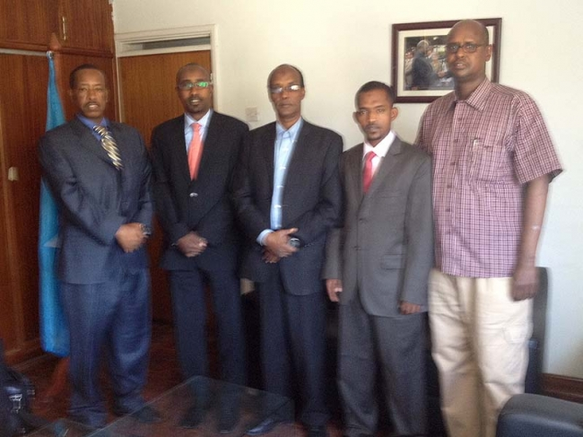 Zakat Foundation of America - ZF Representative Meets with Somali Government in Kenya