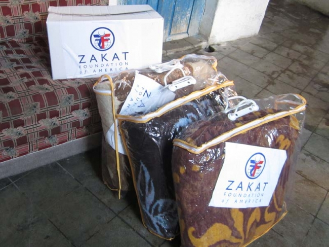 Zakat Foundation of America - Give a Blanket for Syria