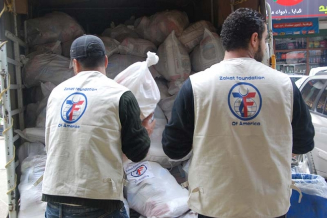 Zakat Foundation of America - 2011-2012 Syrian Crisis Humanitarian Relief