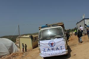 Zakat Foundation of America - 2013 April to June - Syria Humanitarian Relief
