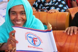 Zakat Foundation of America - 2013 Bangladesh Women Empowerment Program