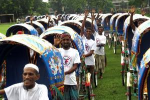 Zakat Foundation of America - 2013 - 100 Rickshaws for Bangladesh