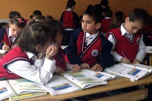 Zakat Foundation of America - Syrian Refugee Children Learn and Flourish at ZF School in Turkey
