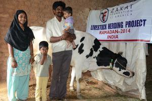 Zakat Foundation of America - 2014 Ramadan Livestock Distribution - The Gift of a Brighter Future