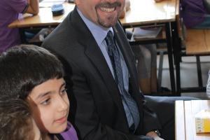 Zakat Foundation of America - U.S. Ambassador to Turkey Visits ZF-Sponsored School