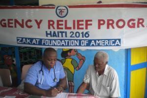 Zakat Foundation of America - ZF Aids Haiti in Hurricane Matthew Aftermath