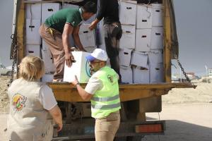 Zakat Foundation of America - ZF Delivers Much-Needed Aid to Iraq