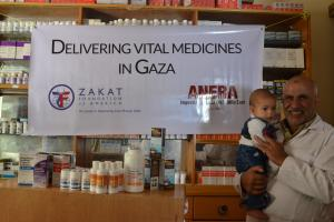 Zakat Foundation of America - ZF Delivers Medical Supplies to Gaza