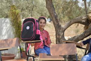Zakat Foundation of America - Backpack Distribution in Jordan, 2016