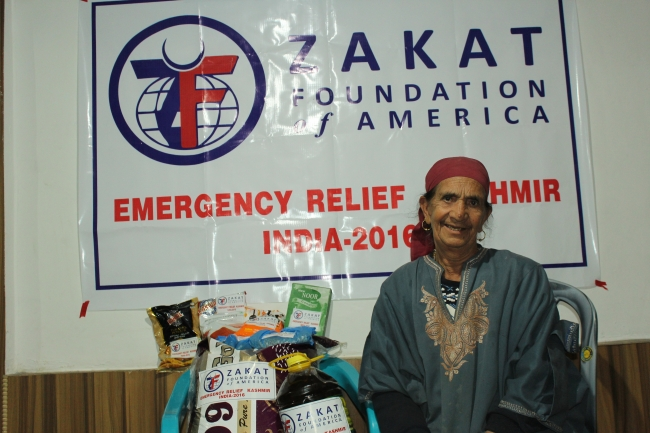 Zakat Foundation of America - ZF Reaches Out to the Kashmiri People