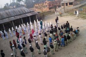 arabic.zakat.org - اقامة مدرسة للأطفال في نيبال