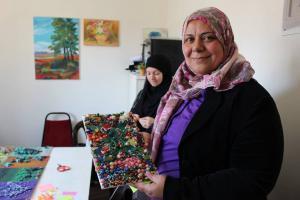 arabic.zakat.org - جانب من نشاطات مركز التدريب المهني التابع للزكاة