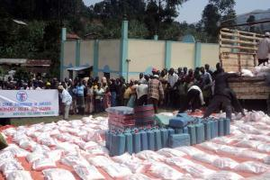 Zakat Foundation of America - 2012 Emergency Landslide Relief Uganda
