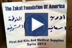 Zakat Foundation of America - ZF Rushes Medical Aid to Damascus Following Chemical Attacks