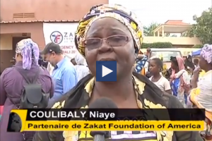 Zakat Foundation of America - ZF Mali Relief on Mali National TV