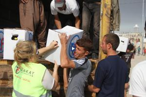 Zakat Foundation of America - ZF Delivers Much-Needed Emergency Relief Aid in Iraq